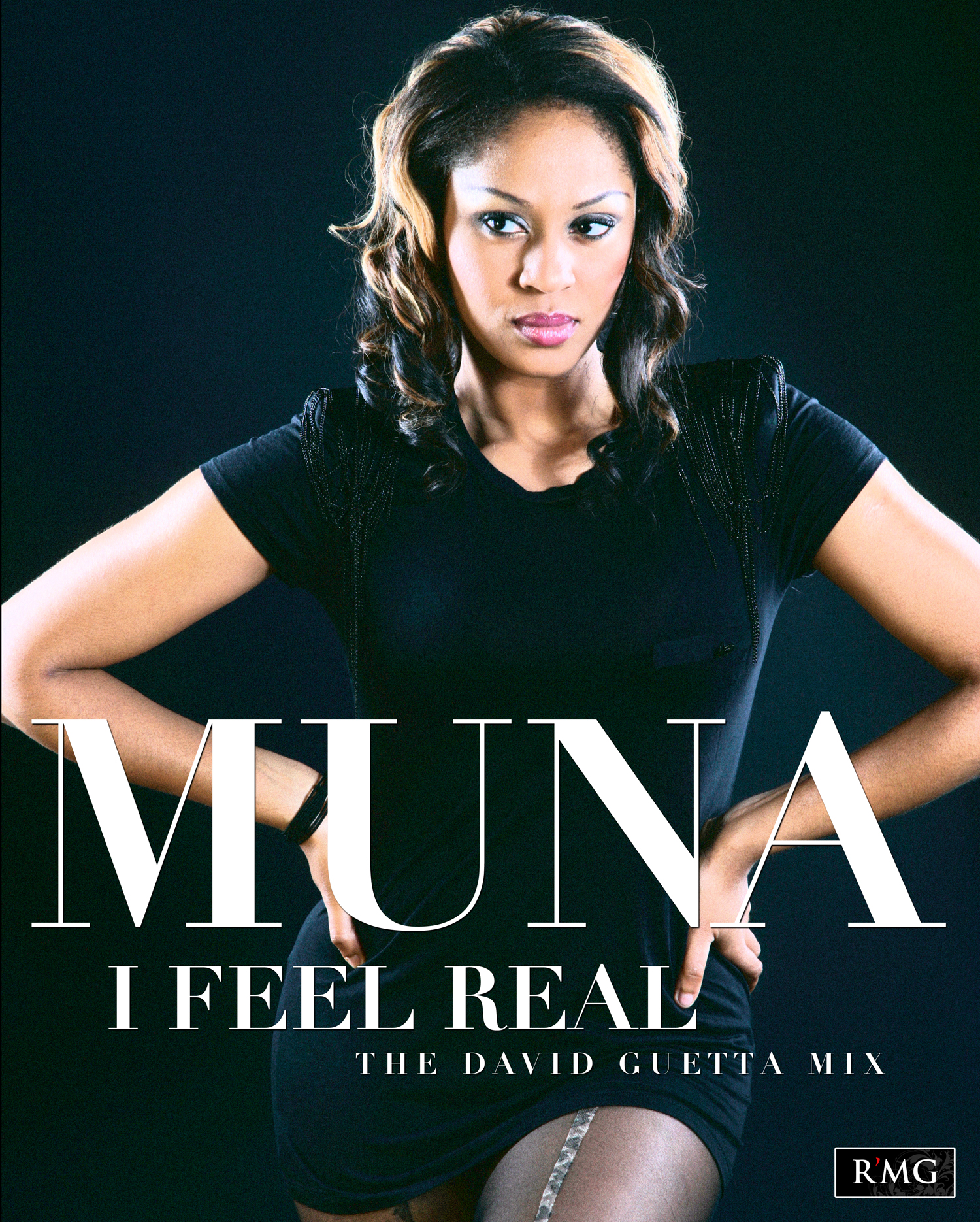Muna Cover for NJO OFFICIAL RELEASE: Muna   I Feel Real (The David  Guetta Mix)