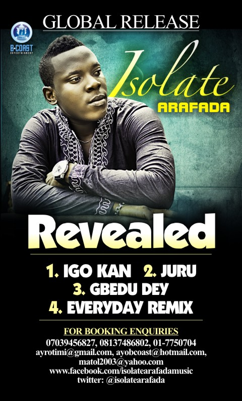 ISOLATE - REVEALED The EP (DOWNLOAD) - Notjustok