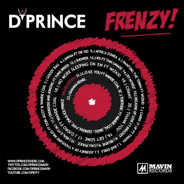 D Prince Frenzy Album Tracklist Promo Video Latest